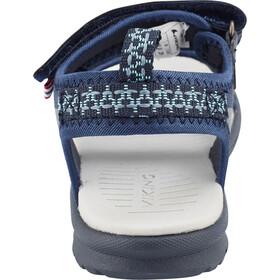 Viking Footwear Skumvaer II Sandalias Niños, navy/green